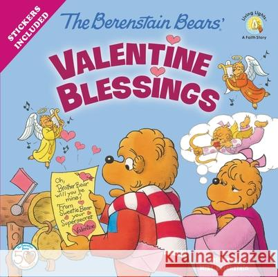 The Berenstain Bears' Valentine Blessings Mike Berenstain 9780310734895 Zonderkidz - książka