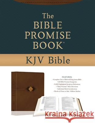 The Bible Promise Book KJV Bible [hickory Diamond] Compiled by Barbour Staff 9781643528670 Barbour Publishing - książka
