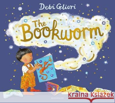 The Bookworm Debi Gliori Debi Gliori  9781408893036 Bloomsbury Childrens Books - książka