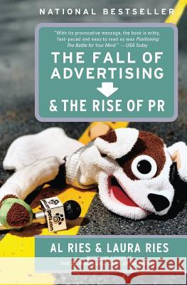 The Fall of Advertising and the Rise of PR Al Ries Laura Ries 9780060081997 HarperBusiness - książka