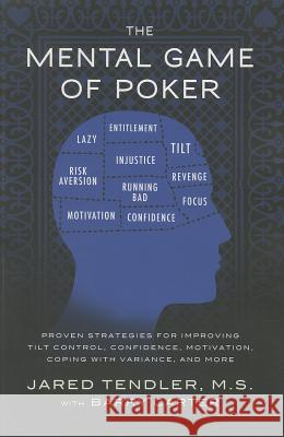 The Mental Game of Poker: Proven Strategies for Improving Tilt Control, Confidence, Motivation, Coping with Variance, and More  9780615436135  - książka