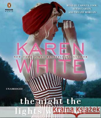 The Night the Lights Went Out - audiobook Karen White 9780735289307 Penguin Audiobooks - książka