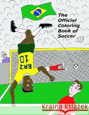 The Official Coloring Book of Soccer Icelandic Taco 9781935079170 Lighthouse Publishing - książka