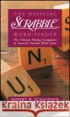 The Official Scrabble Brand Word-Finder Robert W. Schachner Robert W. Schachner Robert W. Schachner 9780028621326 MacMillan Publishing Company