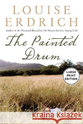 The Painted Drum Lp Louise Erdrich 9780060834296 HarperLargePrint - książka