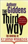 The Third Way Anthony Giddens   9780745650821