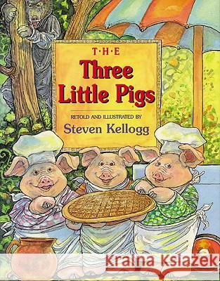 The Three Little Pigs S. Kellogg 9780613629997 Tandem Library - książka