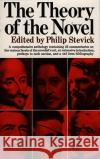 Theory of the Novel Philip Stevick 9780029314906 Free Press