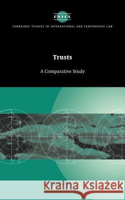 Trusts: A Comparative Study Maurizio Lupoi James Crawford John Bell 9780521623292 Cambridge University Press - książka