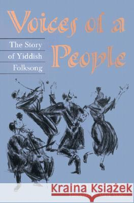Voices of a People: The Story of Yiddish Folksong Ruth Rubin Mark Slobin 9780252069185 University of Illinois Press - książka