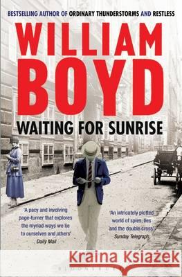 Waiting for Sunrise William Boyd 9781408830390  - książka