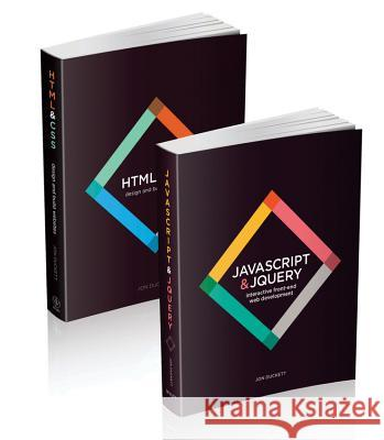 Web Design with HTML, CSS, JavaScript and Jquery Set Duckett, Jon 9781118907443 John Wiley & Sons - książka