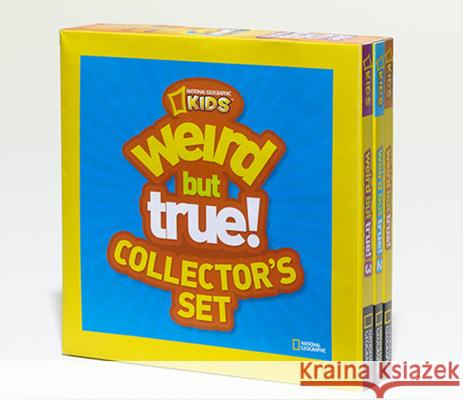 Weird But True Collector's Set (Boxed Set): 900 Outrageous Facts National Geographic Kids 9781426311949 National Geographic Society - książka