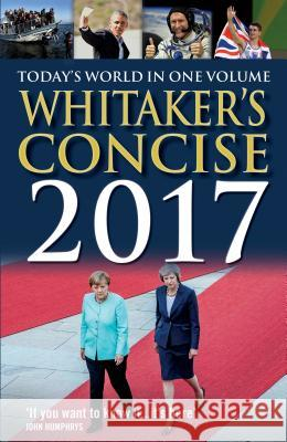 Whitaker's Concise 2017  9781472909343 Yearbooks - książka